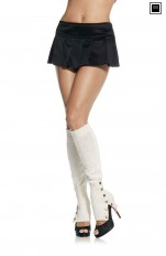 Knee Socks Leg Avenue - 3901 Sexy Button Side Leg Warmers