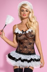 French Maid  Obsessive - Housemaid Costume Set