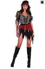 Fancy dress costumes 83229 Pirate Girl Costume