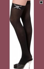 Costume Stockings/Hold-ups Smiffy's - Pirate  Stay ups