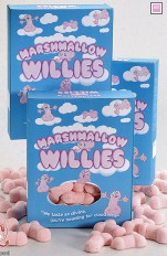 Sexy sweets Marshmallow Willies