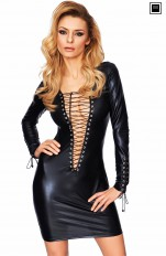Sukienki latex 7heaven - Enna Sexy Vinyl Dress