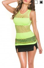 Tops Forever Sexy - 9300 Top/ Mini Fishnet Dress