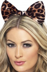 Cat Fever - 24871 Cheetah Bow on Headband