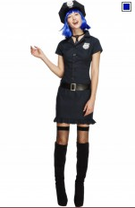 Policewoman  Fever - 32036 Cop Girl Costume