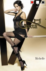 Gatta Michelle - Stay-ups with lace