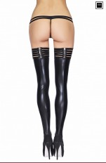 Plus size Stockings/ Hold-ups/ Tigh-Highs 7heaven - Andes Stockings Queen Size