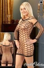 Seamless Cottelli Collection - Net Dress