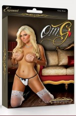 Costume accessories Magic Silk - G503 Waitress Thong