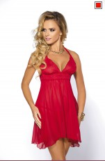 Babydoll  Anais - Essie Red Chemise