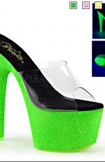 Sexy Sandals Pleaser - ADORE-701UVG Neon Sandals