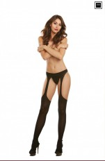 Dreamgirl - 0250 Sexy Suspender Pantyhose