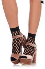 Knee Socks Leg Avenue - 3042 Net Anklets