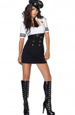 Stewardess  Leg Avenue - 83839 First Class Captain