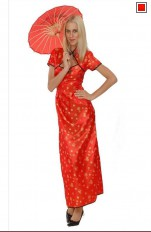 Plus size Dress-up Costumes 86113 Chinese Girl