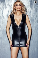 Sukienki latex 7heaven - Ivana Spicy Black Dress