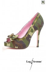 High heels, Stillettos, Boots  Leg Avenue -  LA420-ARMY