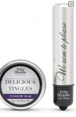 50 Shades of Grey - Pleasure Overload Delicious Tingles Kit