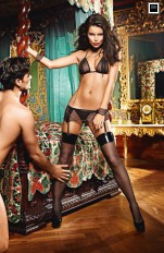 Others costumes Baci - 1327 Zip-Up Love Slave Set