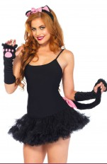 Costume accessories Leg Avenue - 2056 Pretty Kitty Accessory Kit
