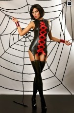 Gorsety latex Lolitta - Mansion of Love Intriguing Body