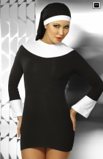 Plus size Dress-up Costumes Irall - Sexy Nun Costume