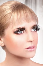 Sexy toys Baci - 607 Brown Feather Eyelashes