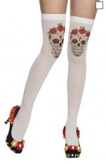87898 Skull Stockings