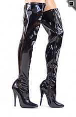 Sexy Boots Pleaser - boots Domina 3000 High Heels 6