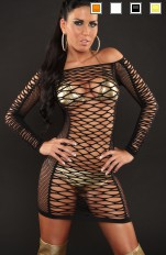 Fishnet & Net Forever Sexy - NTZ25 Sexy Fishnet Dress