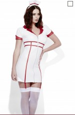 Nurse  Fever - 43499 Nurse Wet Look Costume