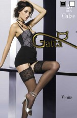 Gatta Venus - Stockings for garterbelt, with lace