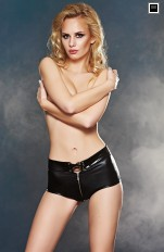 Shorts  and hotpants 7heaven - Dizer Wet-look & Vinyl Shorts