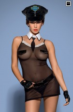 Policewoman  Obsessive - Police 6pcs Chemise