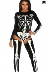 Others costumes Forplay - 553457 Bad To The Bone Skeleton