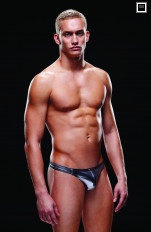 Men's Underwear & Costumes Envy - BEV030 Liquid Metal Low-rise Thong