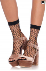Knee Socks Leg Avenue - 3043 Net Anklets